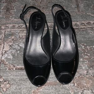Cole Haan Black Slingback Pumps 9B